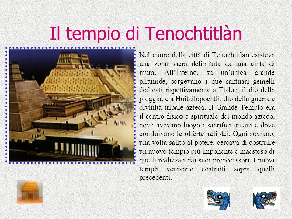 Il tempio di Tenochtitlàn