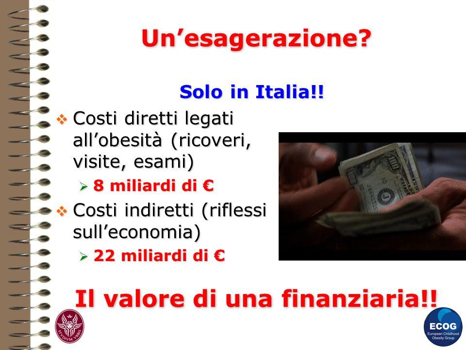 Il valore di una finanziaria!!