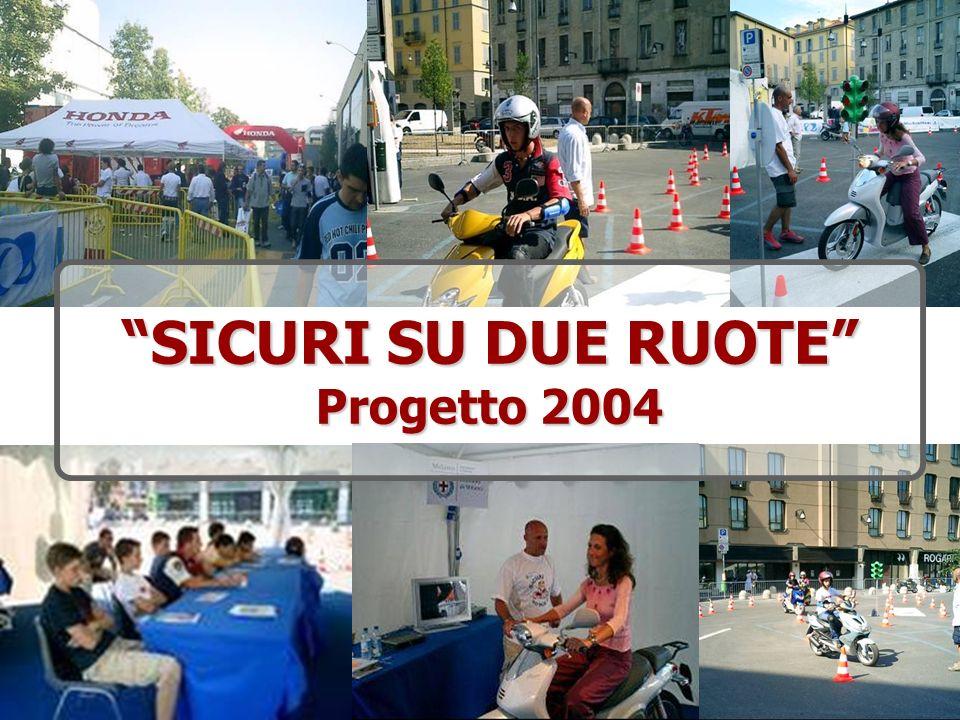 SICURI SU DUE RUOTE Progetto 2004