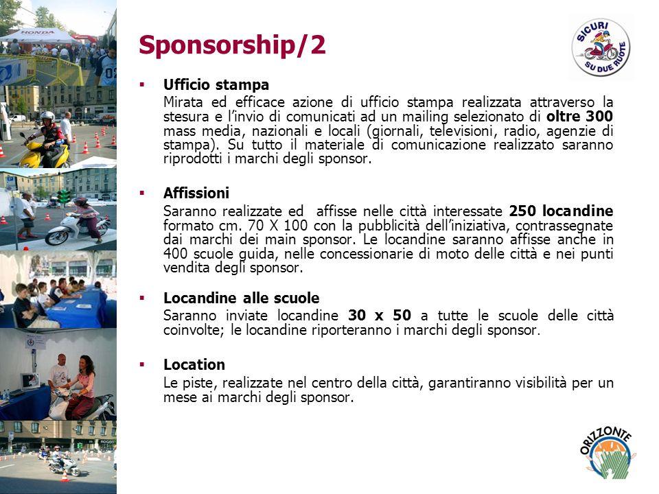 Sponsorship/2 Ufficio stampa