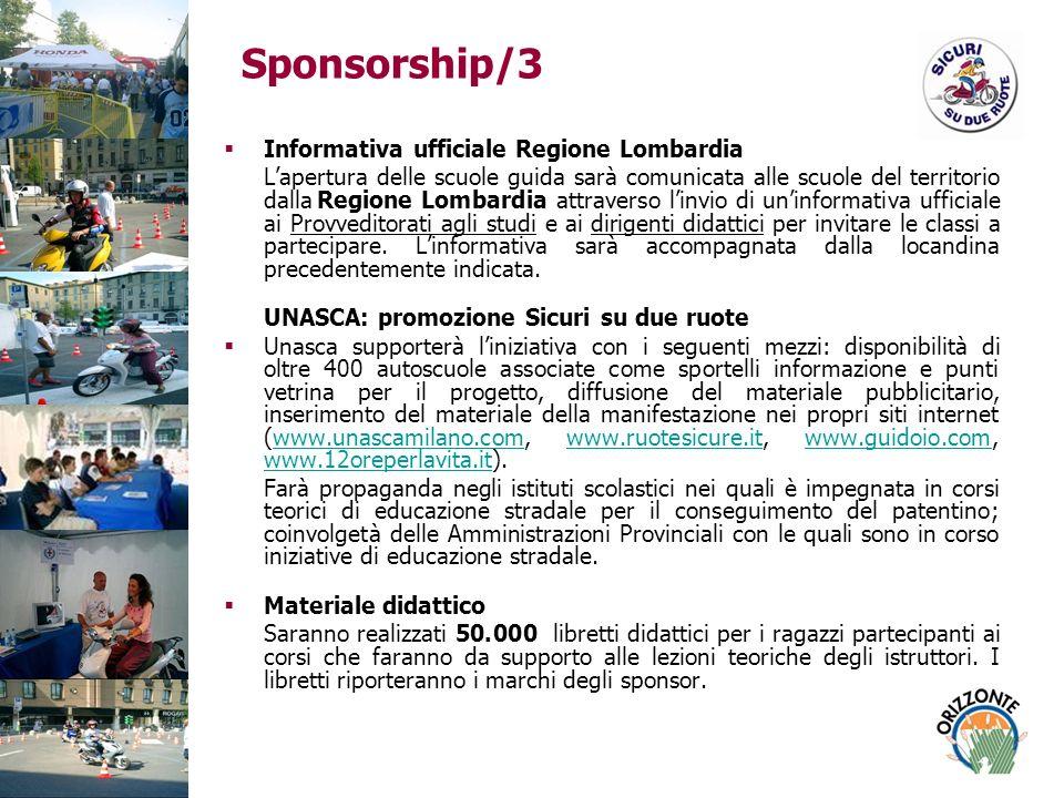 Sponsorship/3 Informativa ufficiale Regione Lombardia