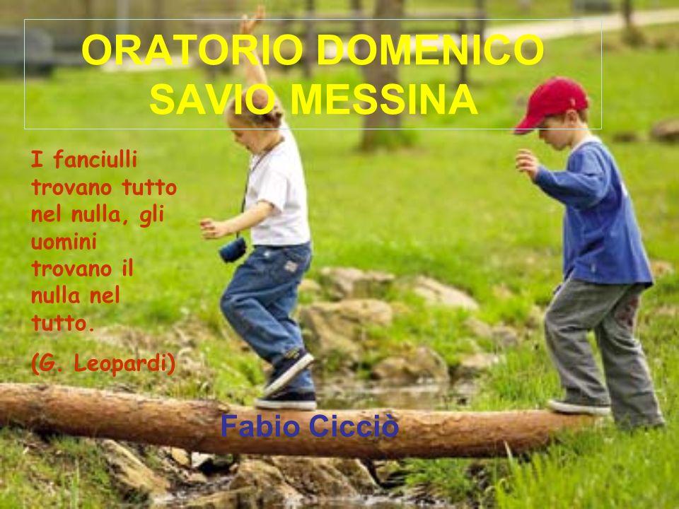 ORATORIO DOMENICO SAVIO MESSINA