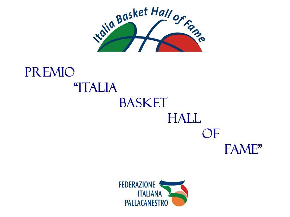 PREMIO ITALIA BASKET HALL OF FAME