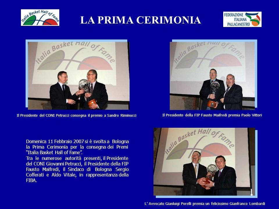 LA PRIMA CERIMONIA Domenica 11 Febbraio 2007 si è svolta a Bologna