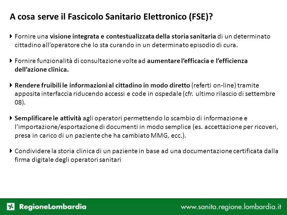 A cosa serve il Fascicolo Sanitario Elettronico (FSE)