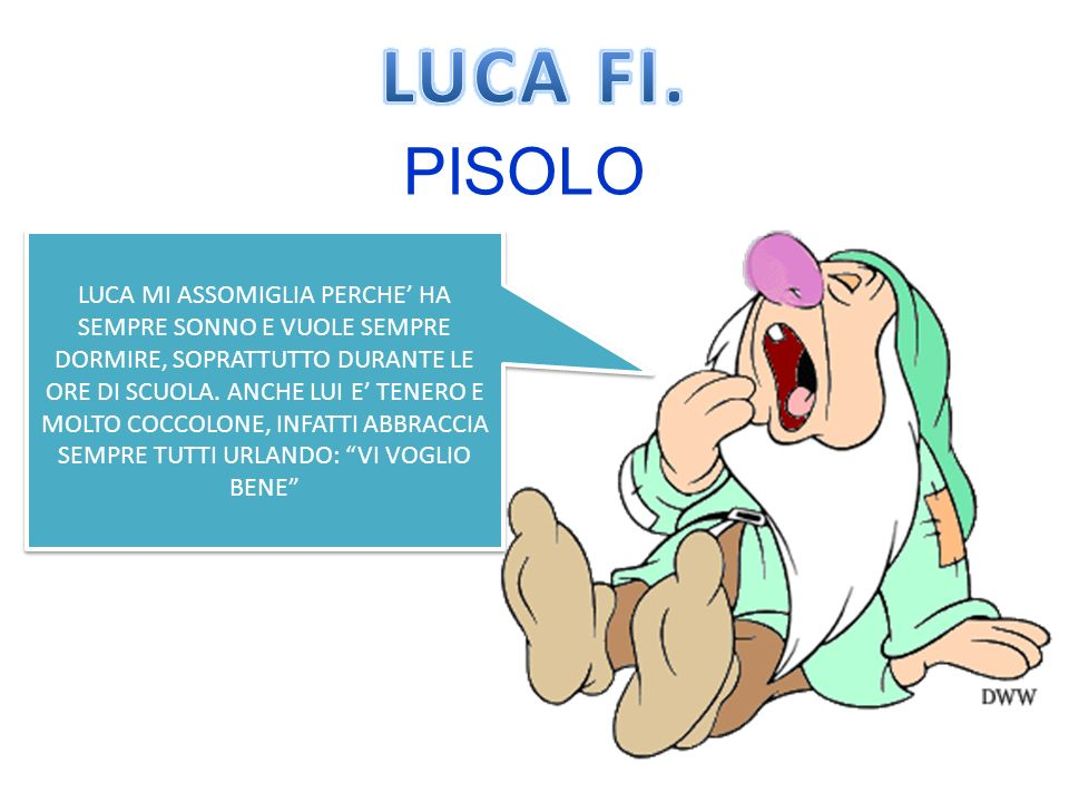 LUCA FI. PISOLO.