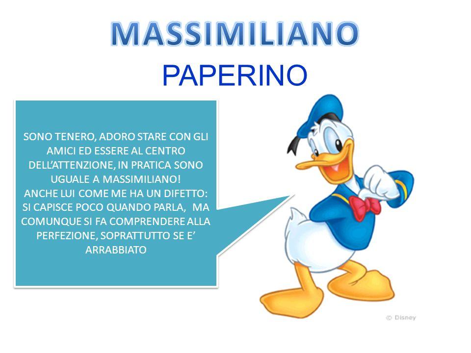 MASSIMILIANO PAPERINO