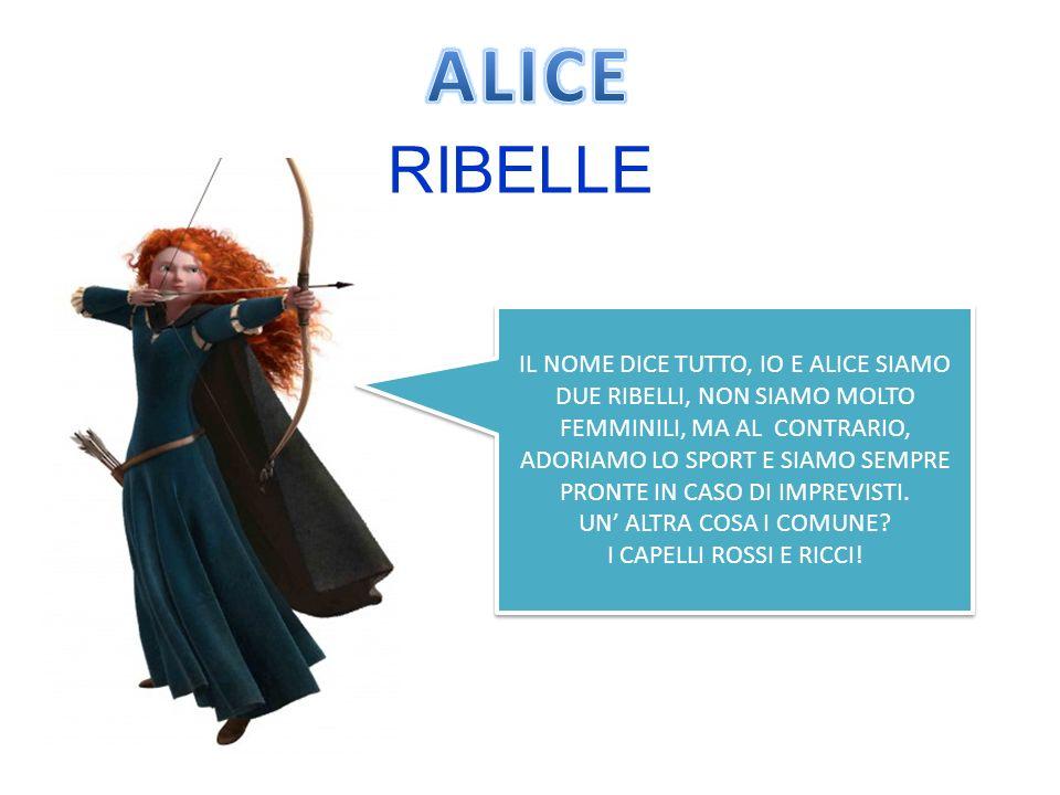 ALICE RIBELLE.
