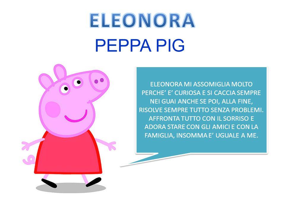 ELEONORA PEPPA PIG.