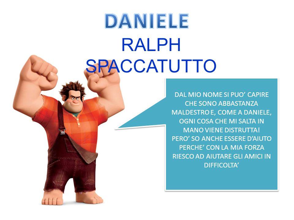 DANIELE RALPH SPACCATUTTO