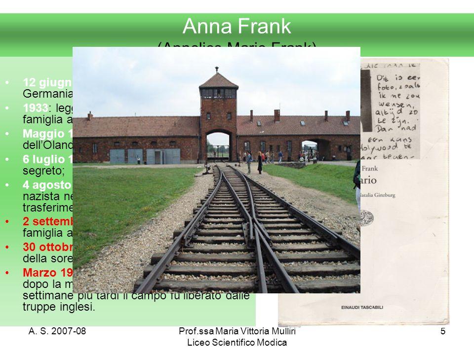 Anna Frank (Annelies Marie Frank)