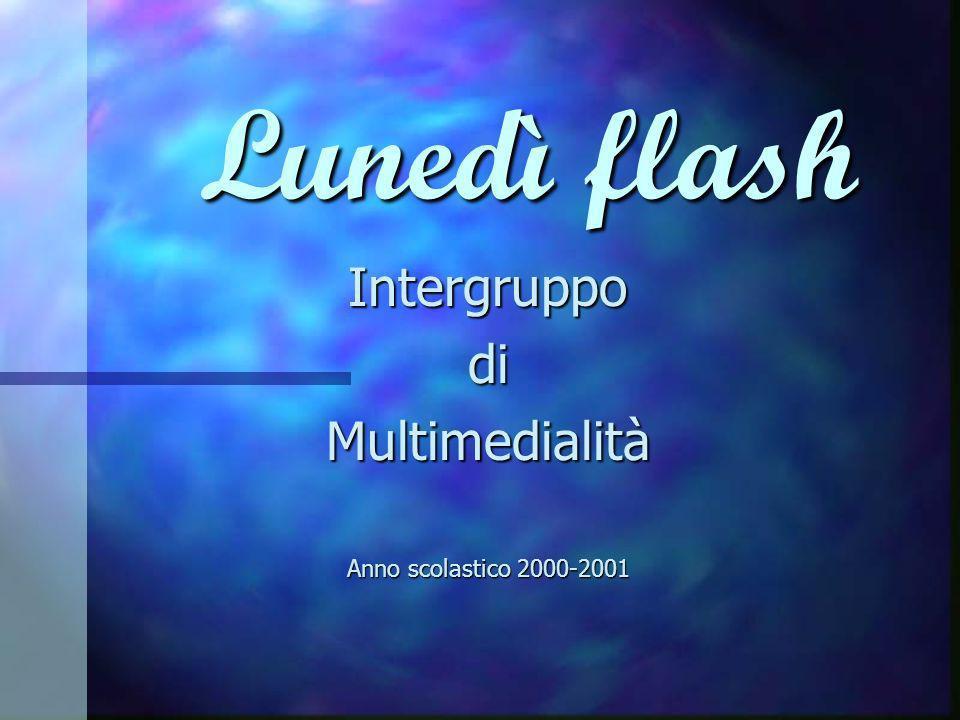 Intergruppo di Multimedialità Anno scolastico 2000-2001
