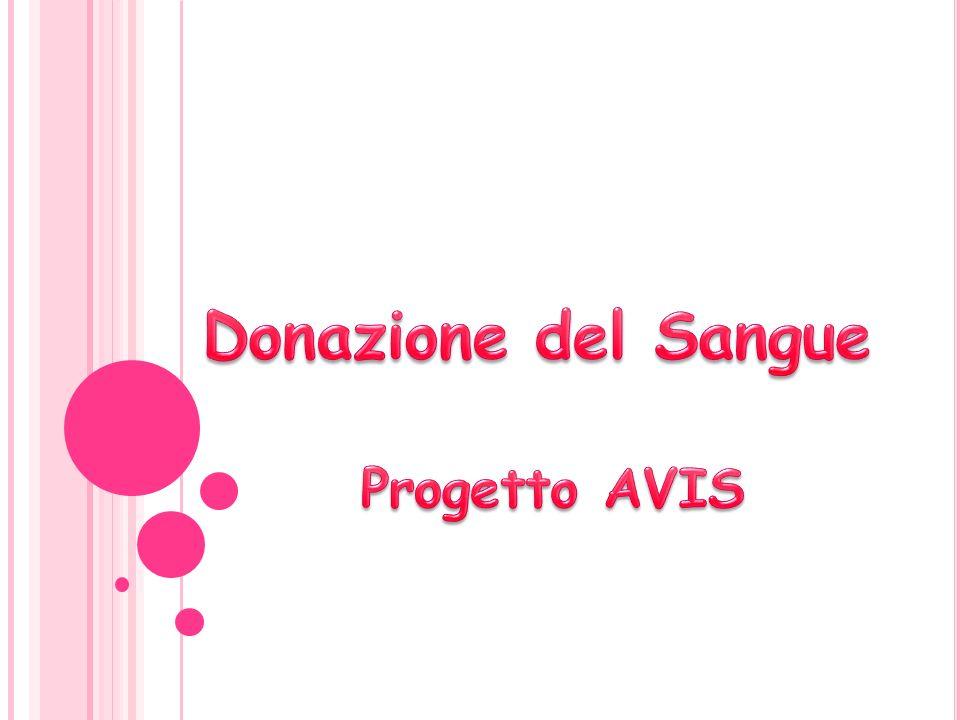 Donazione del Sangue Progetto AVIS