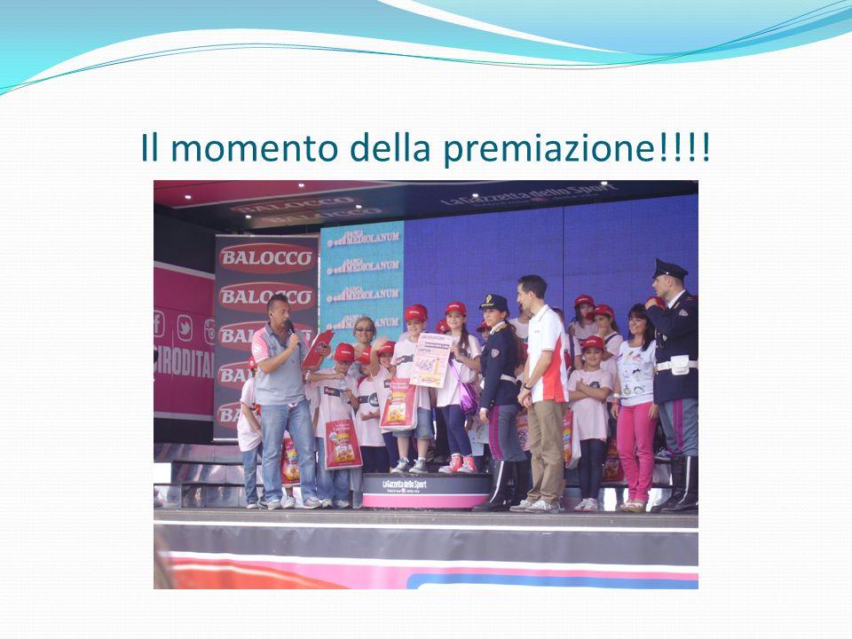 Il momento della premiazione!!!!