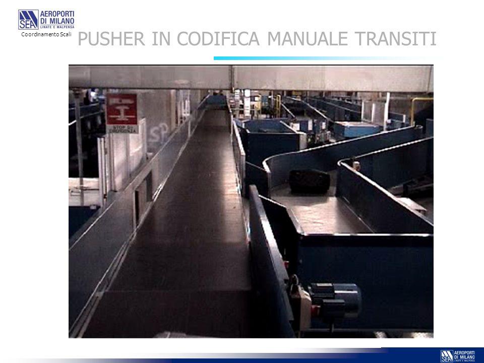 PUSHER IN CODIFICA MANUALE TRANSITI