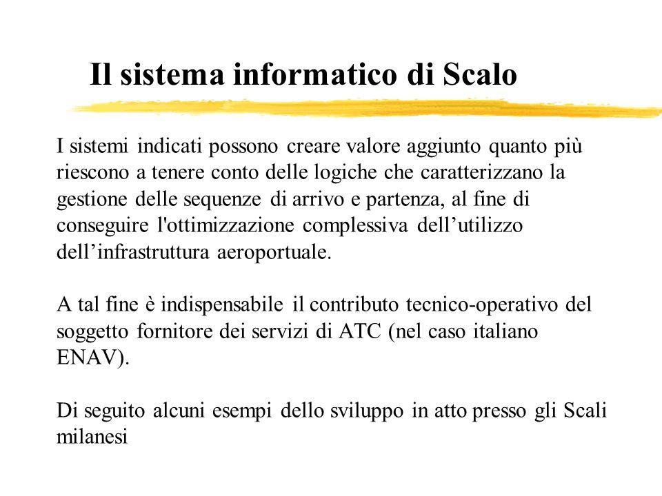 Il sistema informatico di Scalo