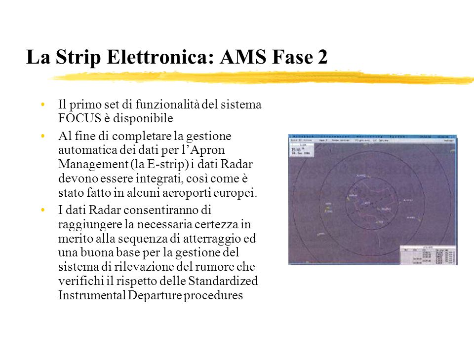 La Strip Elettronica: AMS Fase 2