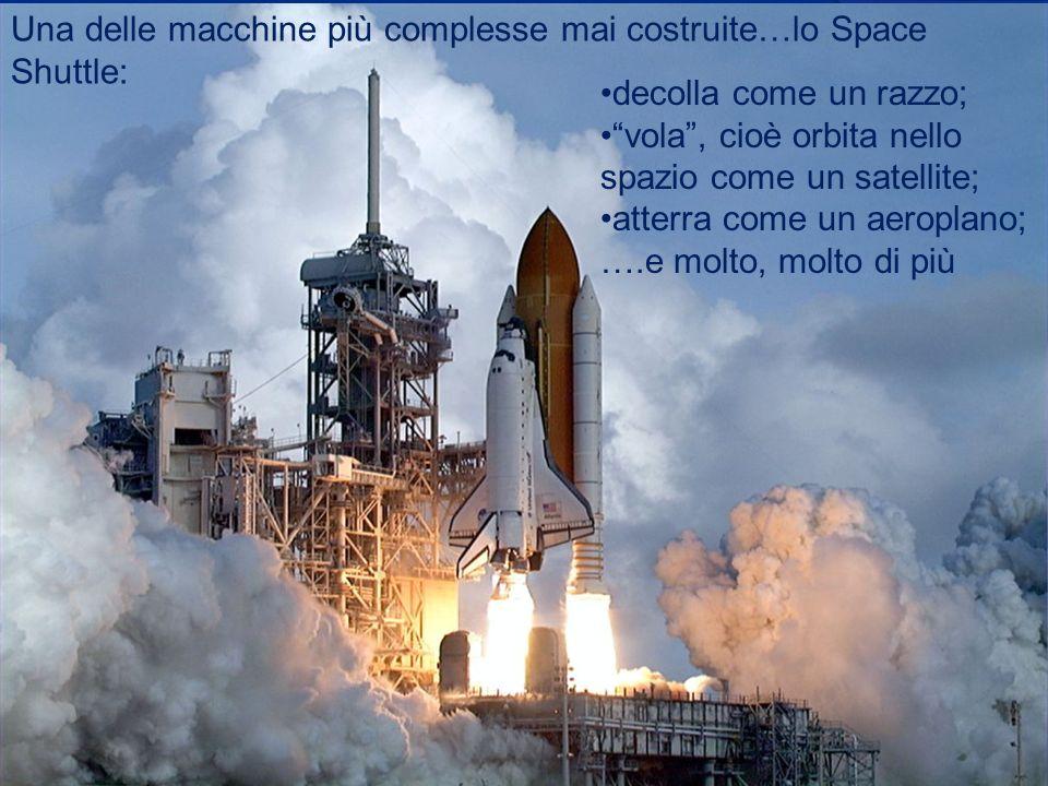 Una delle macchine più complesse mai costruite…lo Space Shuttle: