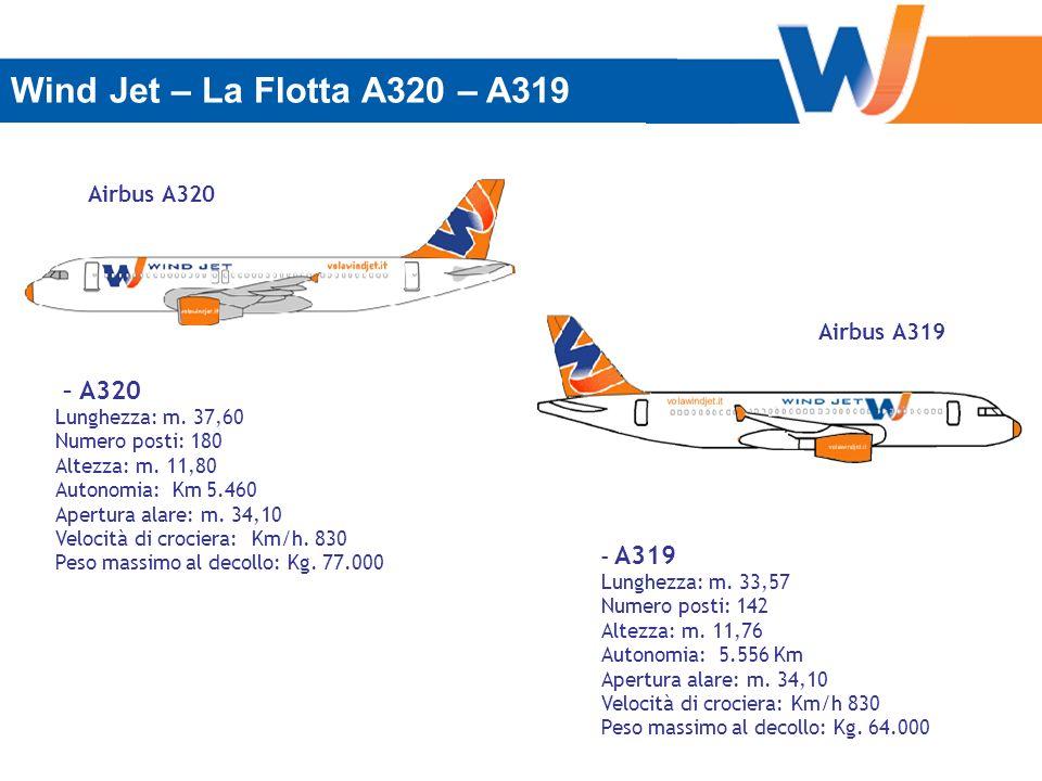 Wind Jet – La Flotta A320 – A319 – A320 Airbus A320 Airbus A319