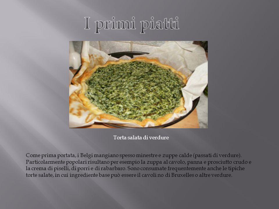 I primi piatti Torta salata di verdure