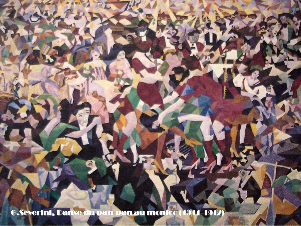 G.Severini, Danse du pan-pan au monico (1911-1912)