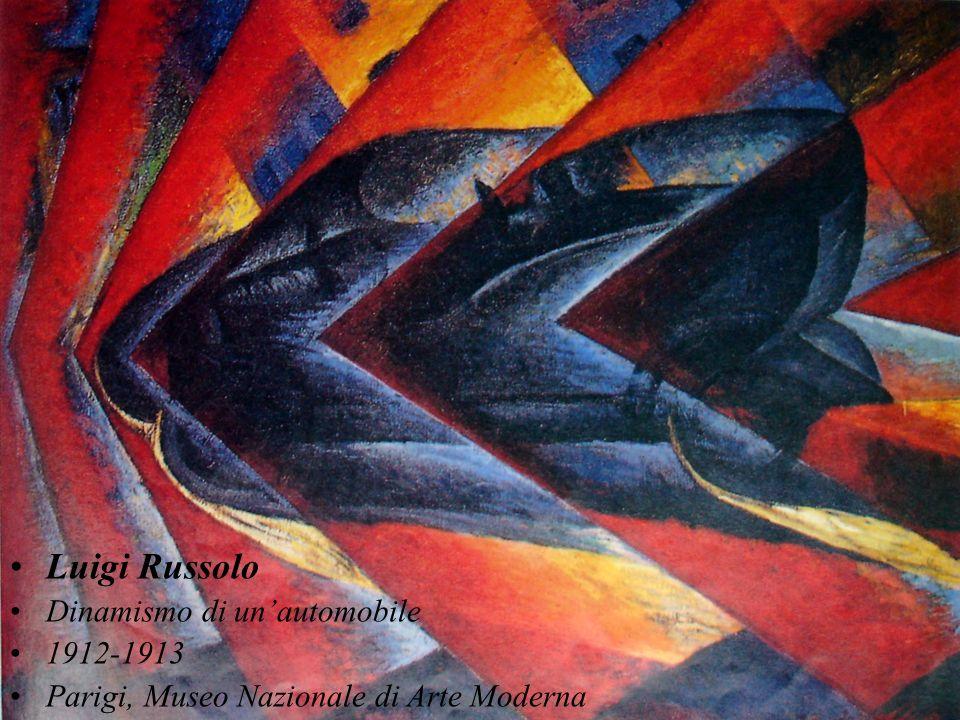 Luigi Russolo Dinamismo di un'automobile 1912-1913