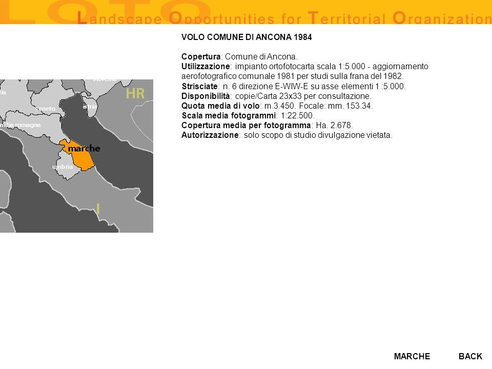 VOLO COMUNE DI ANCONA 1984