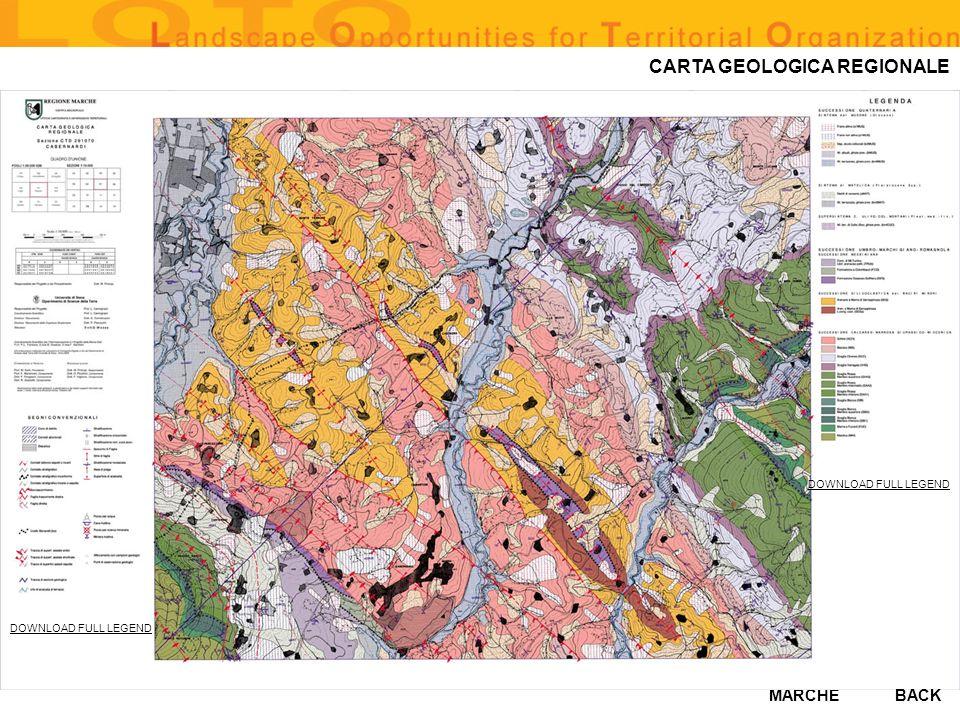 CARTA GEOLOGICA REGIONALE