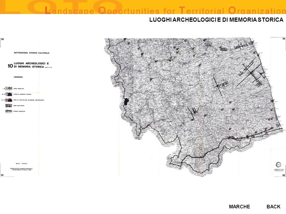 LUOGHI ARCHEOLOGICI E DI MEMORIA STORICA