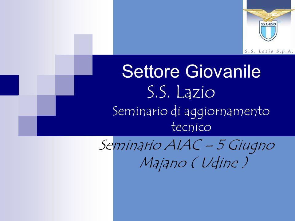 Settore Giovanile S.S. Lazio Seminario di aggiornamento tecnico