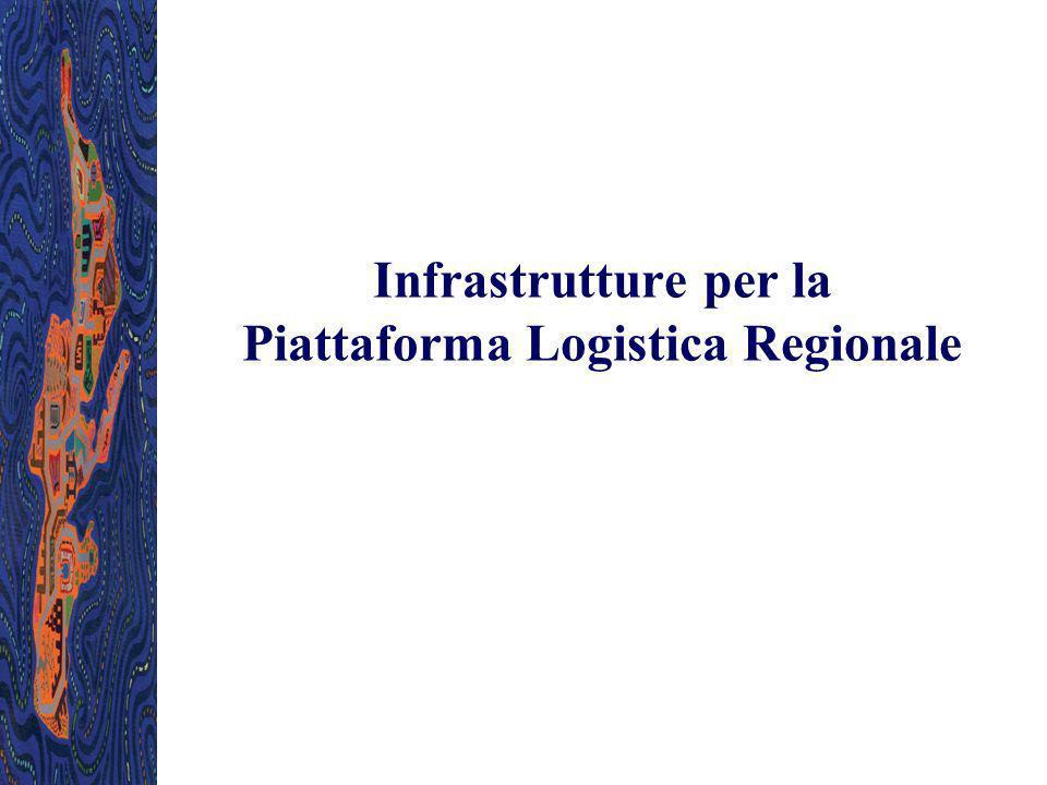 Infrastrutture per la Piattaforma Logistica Regionale