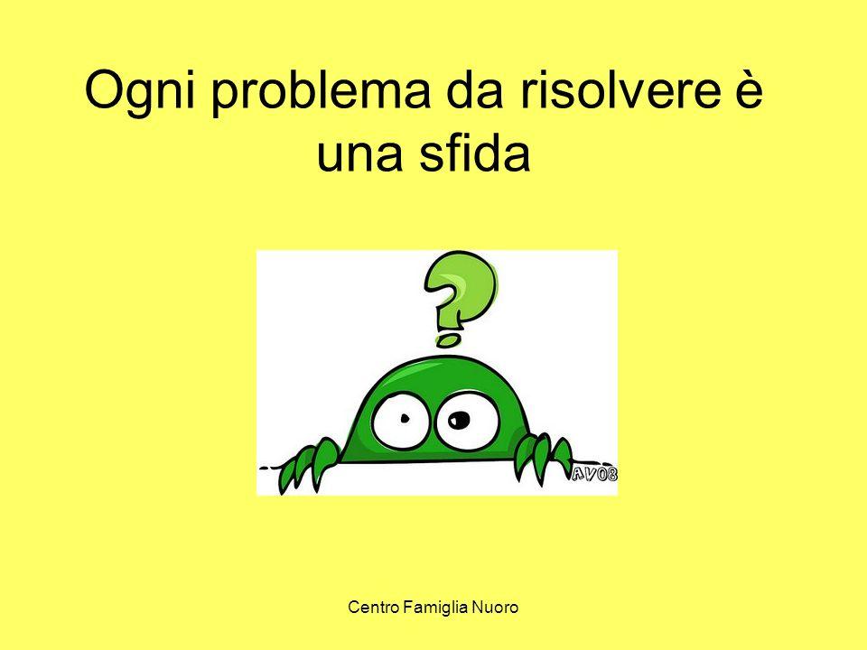 Ogni problema da risolvere è una sfida