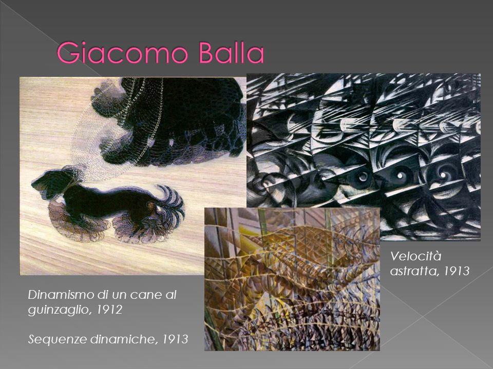 Giacomo Balla Velocità astratta, 1913