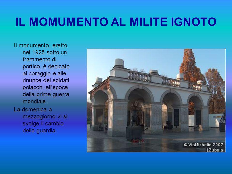 IL MOMUMENTO AL MILITE IGNOTO