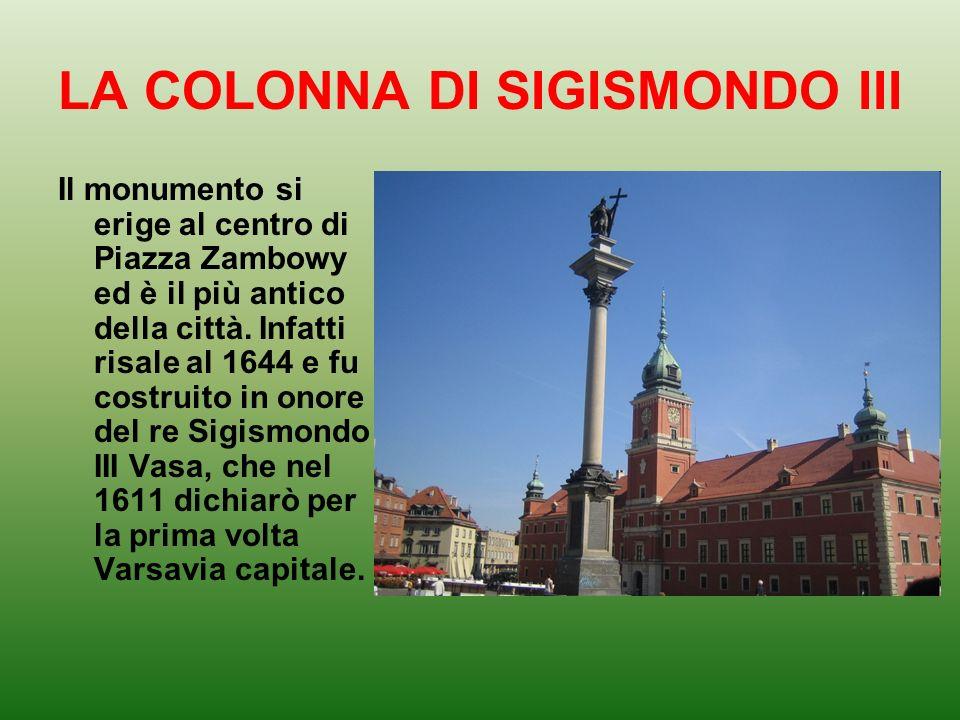 LA COLONNA DI SIGISMONDO III