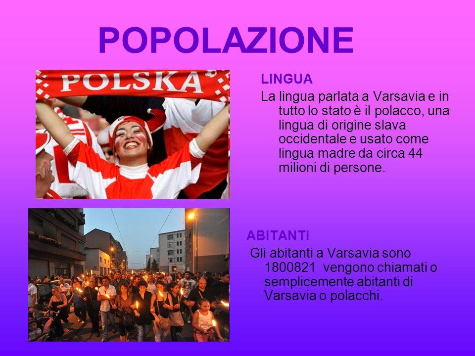 POPOLAZIONE LINGUA.