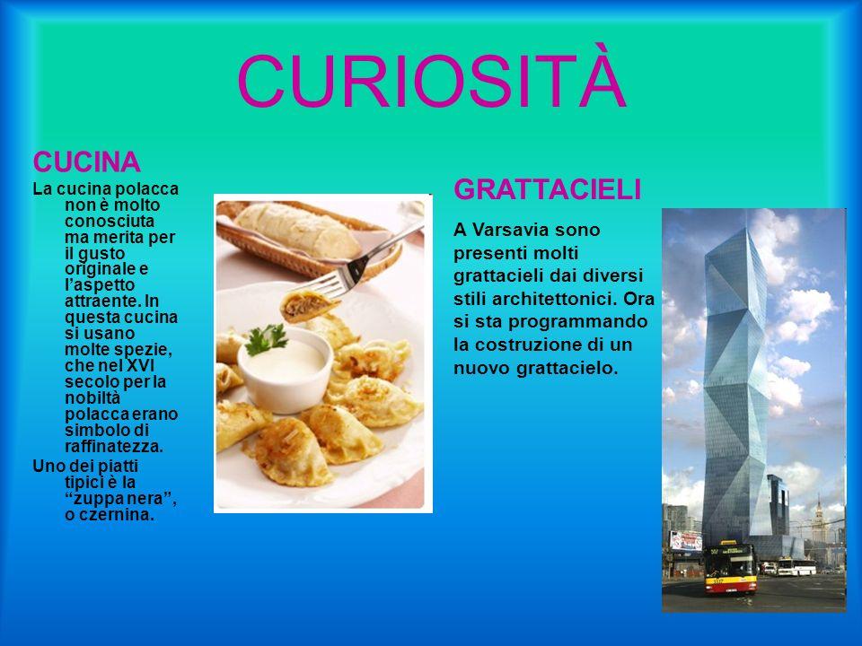 CURIOSITÀ CUCINA GRATTACIELI