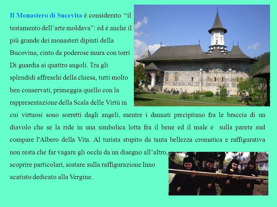 Il Monastero di Sucevita è considerato il