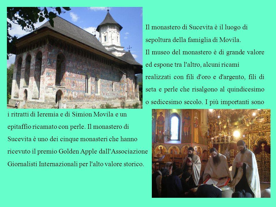 Il monastero di Sucevita è il luogo di