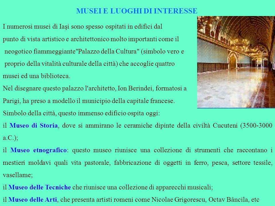 MUSEI E LUOGHI DI INTERESSE