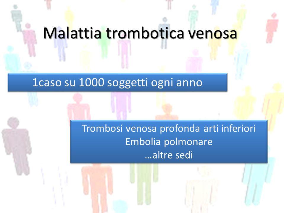 Malattia trombotica venosa