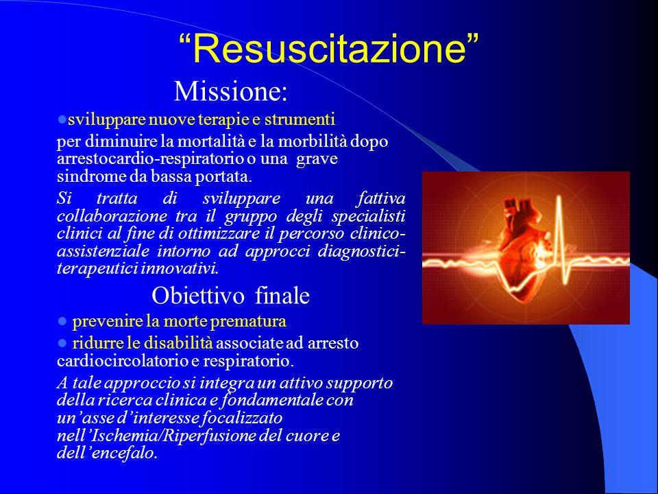 Resuscitazione Missione: Obiettivo finale