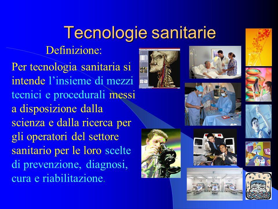 Tecnologie sanitarie Definizione: