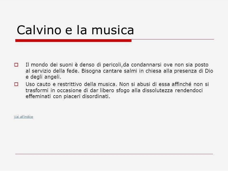 Calvino e la musica