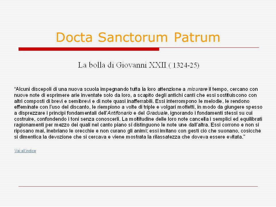 Docta Sanctorum Patrum