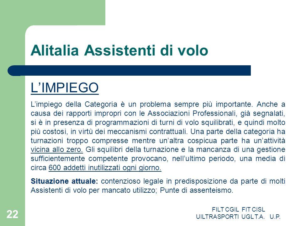 Alitalia Assistenti di volo