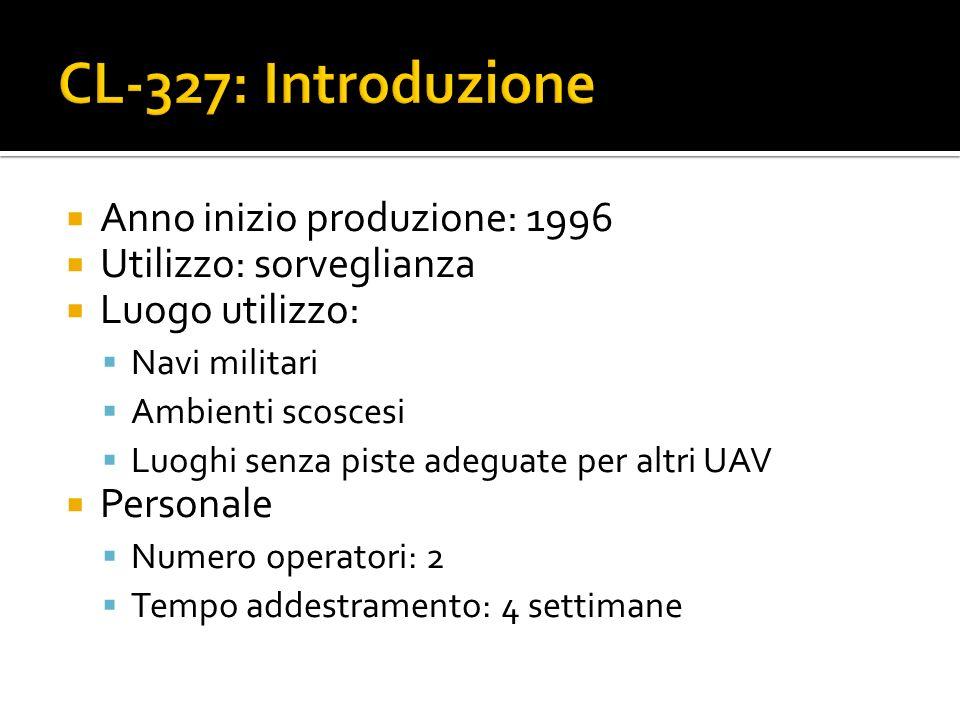 CL-327: Introduzione Anno inizio produzione: 1996