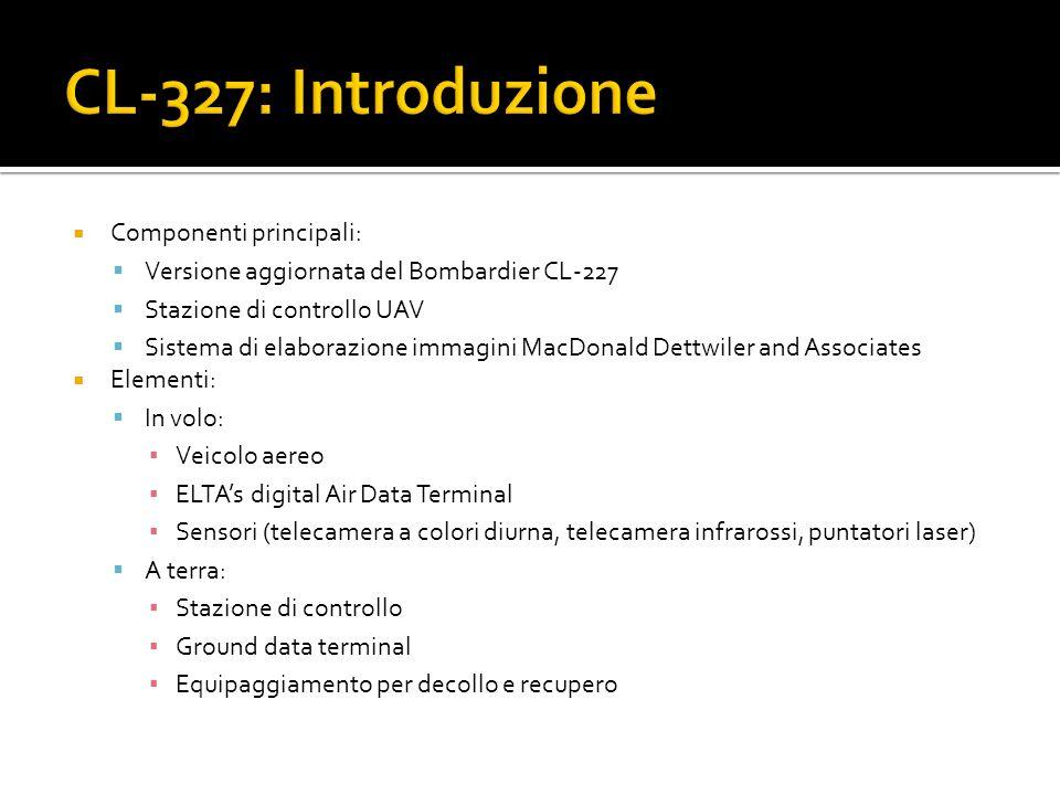 CL-327: Introduzione Componenti principali: