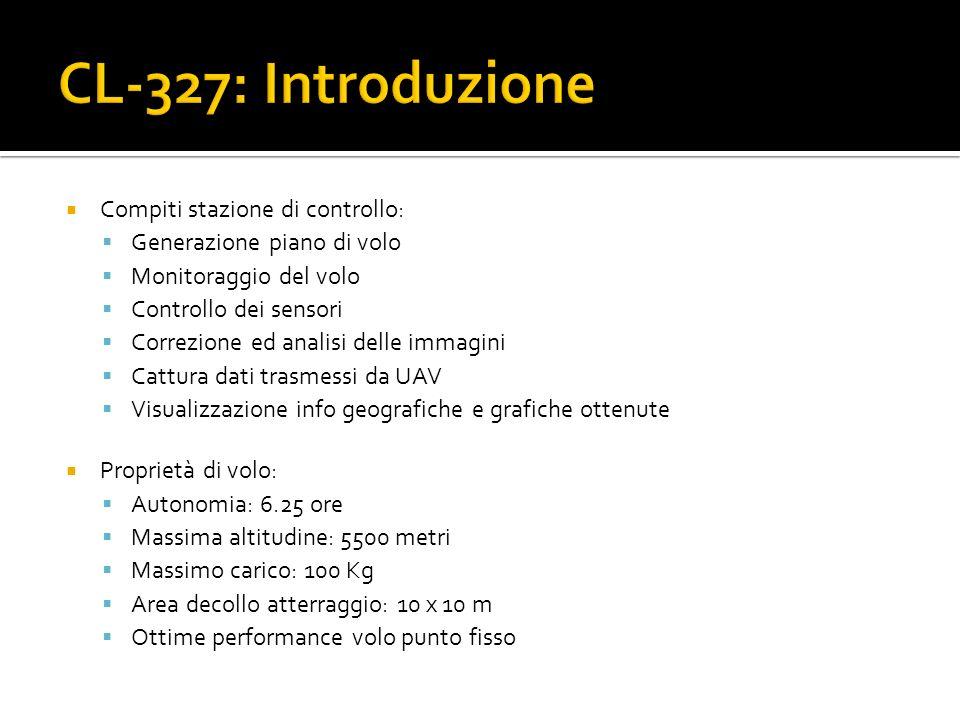 CL-327: Introduzione Compiti stazione di controllo:
