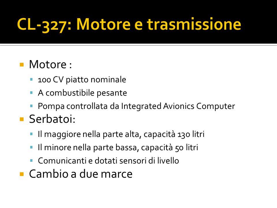 CL-327: Motore e trasmissione